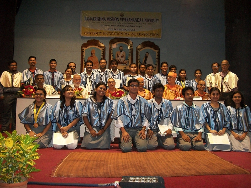RKMVERI Convocation-2013 at Belur Main Campus