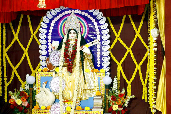 Saraswati Puja at Belur Main Campus – 13 Feb, 2016