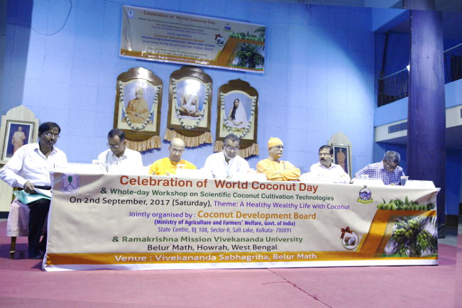 World Coconut Day & Workshop on Scientific Coconut Cultivation Technologies @ Belur Campus – 2 Sep 2017