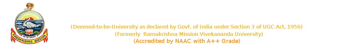 Finance Committee | Ramakrishna Mission Vivekananda Educational & Research Institute