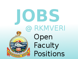 Applications are invited for various faculty positions at Coimbatore Campus – Sept 2021